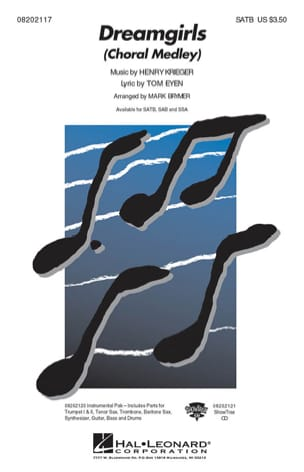 Dreamgirls Choral Medley Henry Krieger Partition laflutedepan