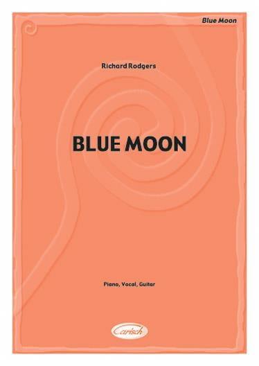 Blue Moon - Richard Rodgers - Partition - Jazz - laflutedepan.com