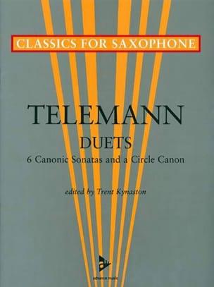 Duets - 6 Canonic sonatas and a circle canon TELEMANN laflutedepan