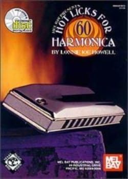 60 Hot Licks For Harmonica - Lonnie Joe Howell - laflutedepan.com