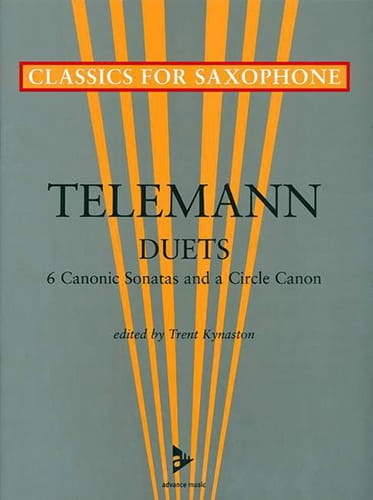Duets - 6 Canonic sonatas and a circle canon - laflutedepan.com