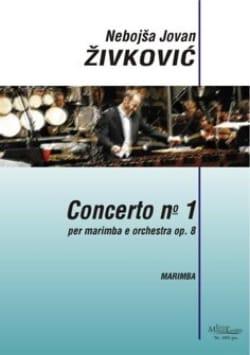 Concerto N° 1 Opus 8 Nebojsa jovan Zivkovic Partition laflutedepan