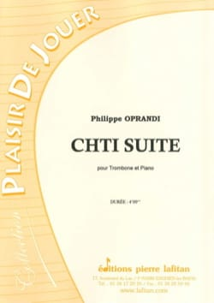 Chti Suite Philippe Oprandi Partition Trombone - laflutedepan