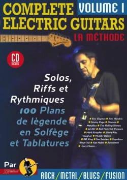 Complete electric guitars volume 1 Jean-Jacques Rébillard laflutedepan
