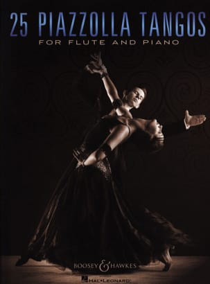 25 Piazzolla Tangos for Flute and Piano Astor Piazzolla laflutedepan