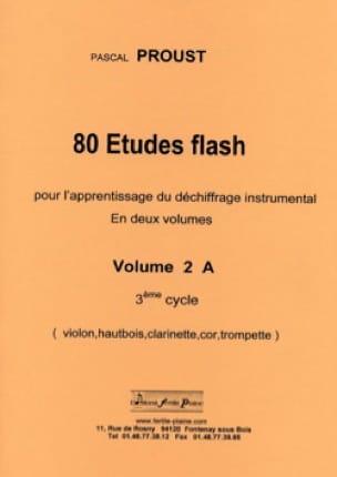 80 Etudes flash volume 2 A 3ème cycle - laflutedepan.com