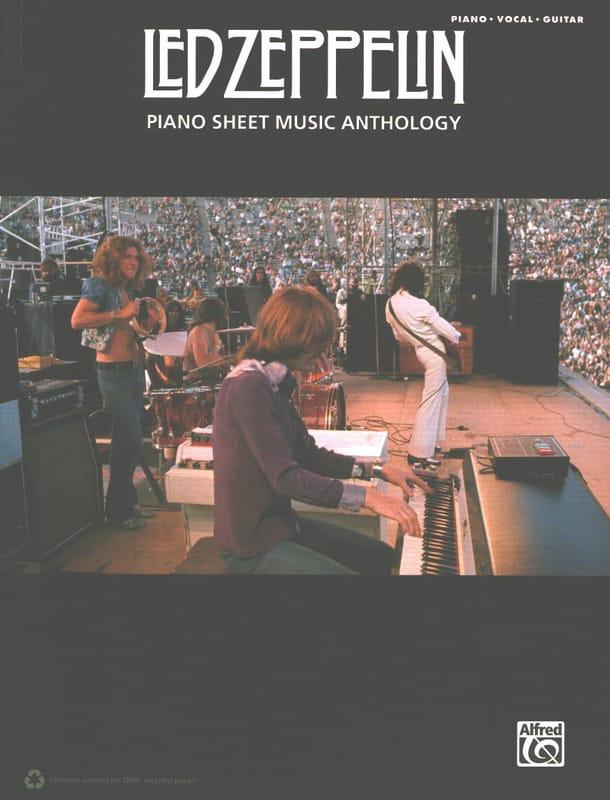 Led Zeppelin - Piano Sheet Music Anthology - laflutedepan.com