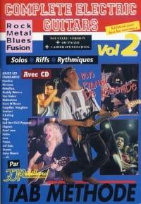 Jean-Jacques Rébillard - Volumen de guitarras eléctricas completo 2 - Partition - di-arezzo.es
