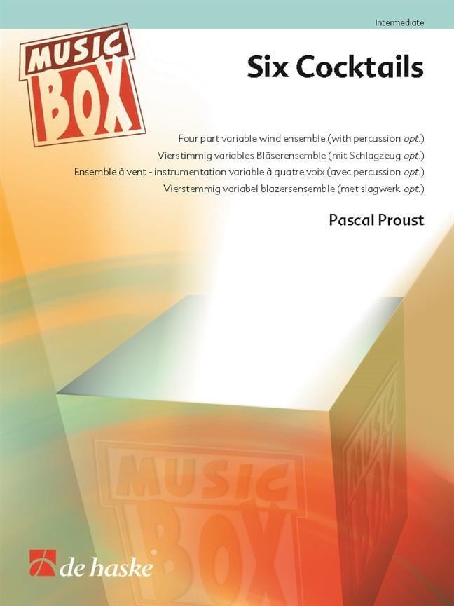 Six Cocktails - Music Box - Pascal Proust - laflutedepan.com