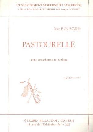Pastourelle Jean Bouvard Partition Saxophone - laflutedepan