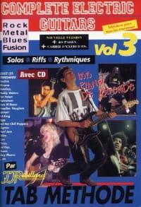 Jean-Jacques Rébillard - Volumen de guitarras eléctricas completo 3 - Partition - di-arezzo.es