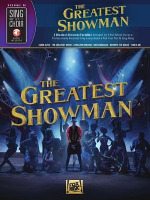Sing with the Choir Volume 16 - The Greatest Showman laflutedepan