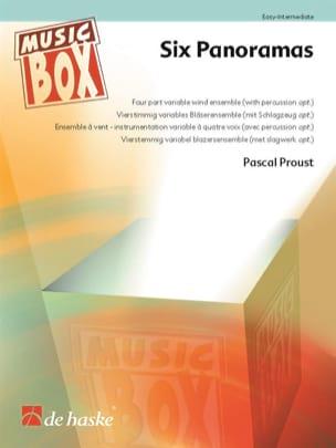 Six Panoramas - Music Box Pascal Proust Partition laflutedepan