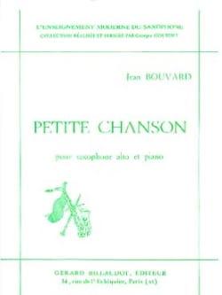 Petite Chanson - Jean Bouvard - Partition - laflutedepan.com