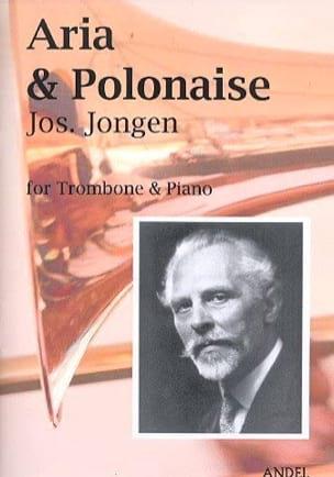 Aria et polonaise Joseph Jongen Partition Trombone - laflutedepan