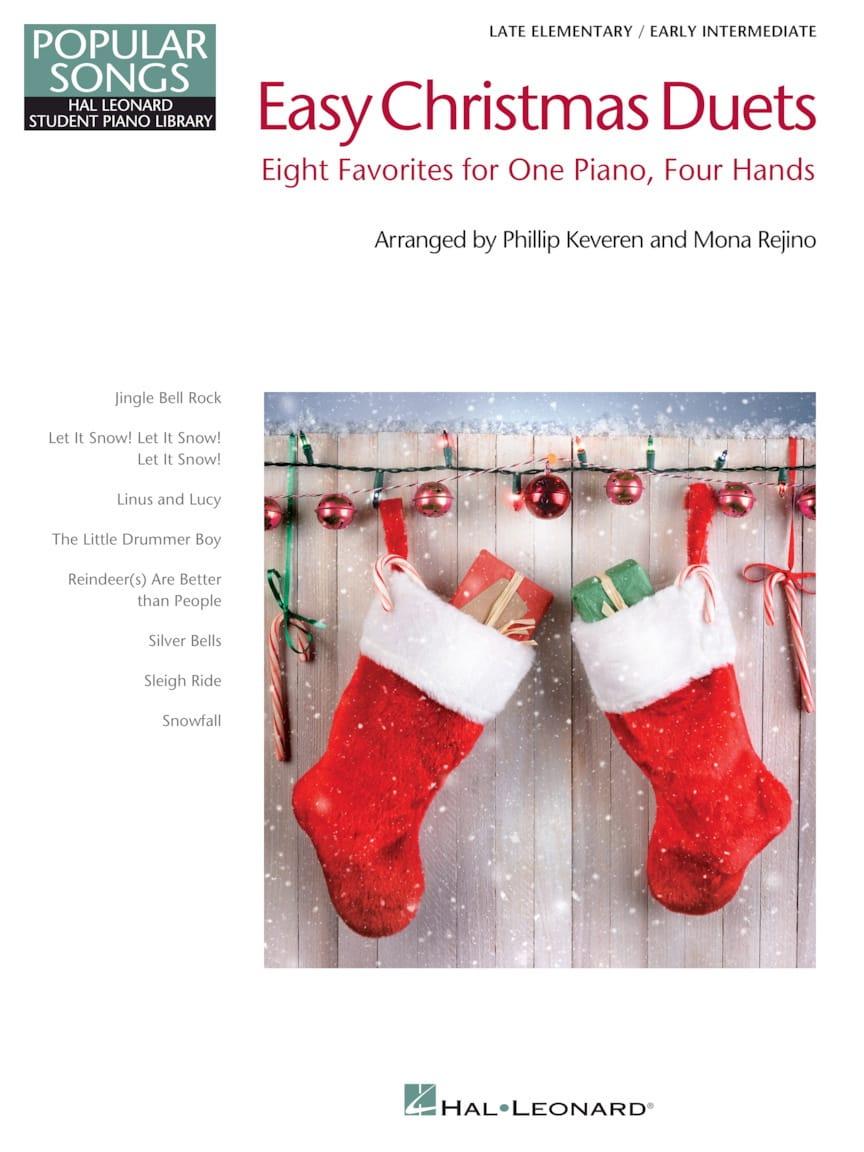Easy Christmas Duets - Popular Songs Series - Noël - laflutedepan.com