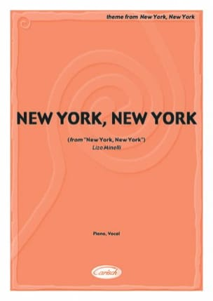 John Kander - Theme From New York New York - Partition - di-arezzo.co.uk