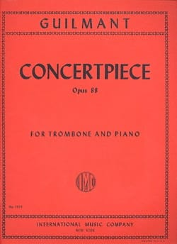 Alexandre Guilmant - Concertpiece Opus 88 - Partition - di-arezzo.co.uk