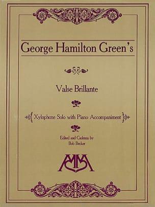 Valse Brillante George Hamilton Green Partition laflutedepan
