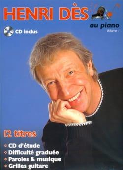 Henri Dès Au Piano Volume 1 Henri Dès Partition laflutedepan