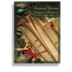 Traditional Christmas Duets For Trombone - Noël - laflutedepan.com