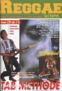 Reggae guitares Jean-Jacques Rébillard Partition laflutedepan