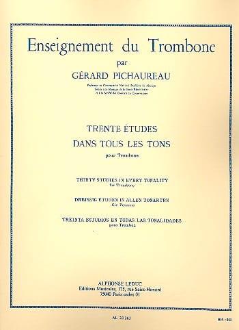 30 Etudes dans Tous les Tons - Gérard Pichaureau - laflutedepan.com