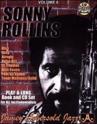 Volume 8 - Sonny Rollins METHODE AEBERSOLD Partition laflutedepan