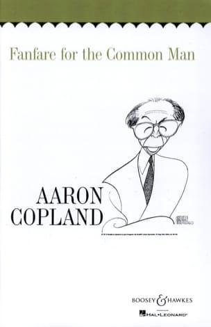 Fanfare for the common man COPLAND Partition laflutedepan