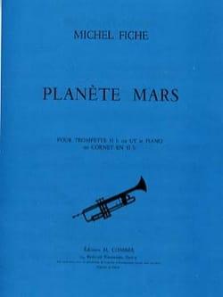 Planète Mars Michel Fiche Partition Trompette - laflutedepan