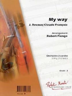 François Claude / Anka Paul - As of Habitude - My Way - Partition - di-arezzo.co.uk