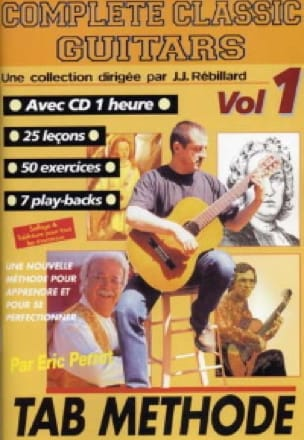 Complete classic guitars volume 1 - laflutedepan.com