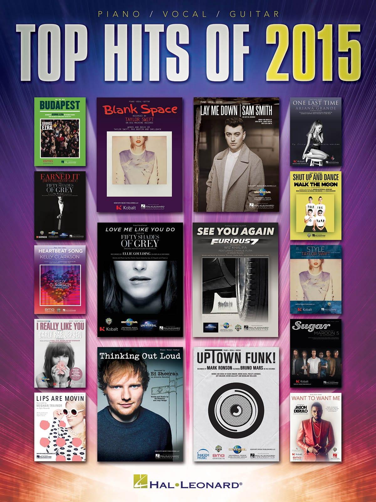 Top Hits of 2015 - Partition - Pop / Rock - laflutedepan.com