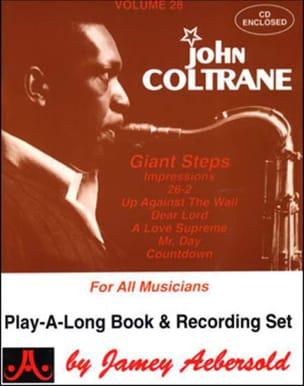 Volume 28 - John Coltrane METHODE AEBERSOLD Partition laflutedepan
