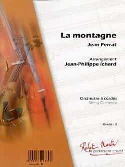 Jean Ferrat - Montaña - Partition - di-arezzo.es