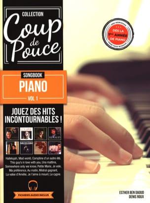 Songbook Piano volume 1 COUP DE POUCE Partition laflutedepan