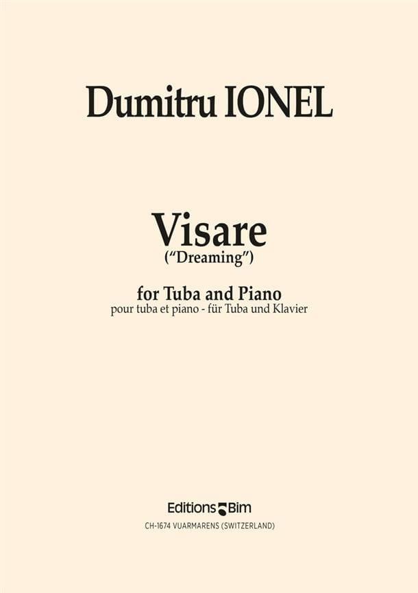 Visare Dreaming - Dumitru Ionel - Partition - Tuba - laflutedepan.com