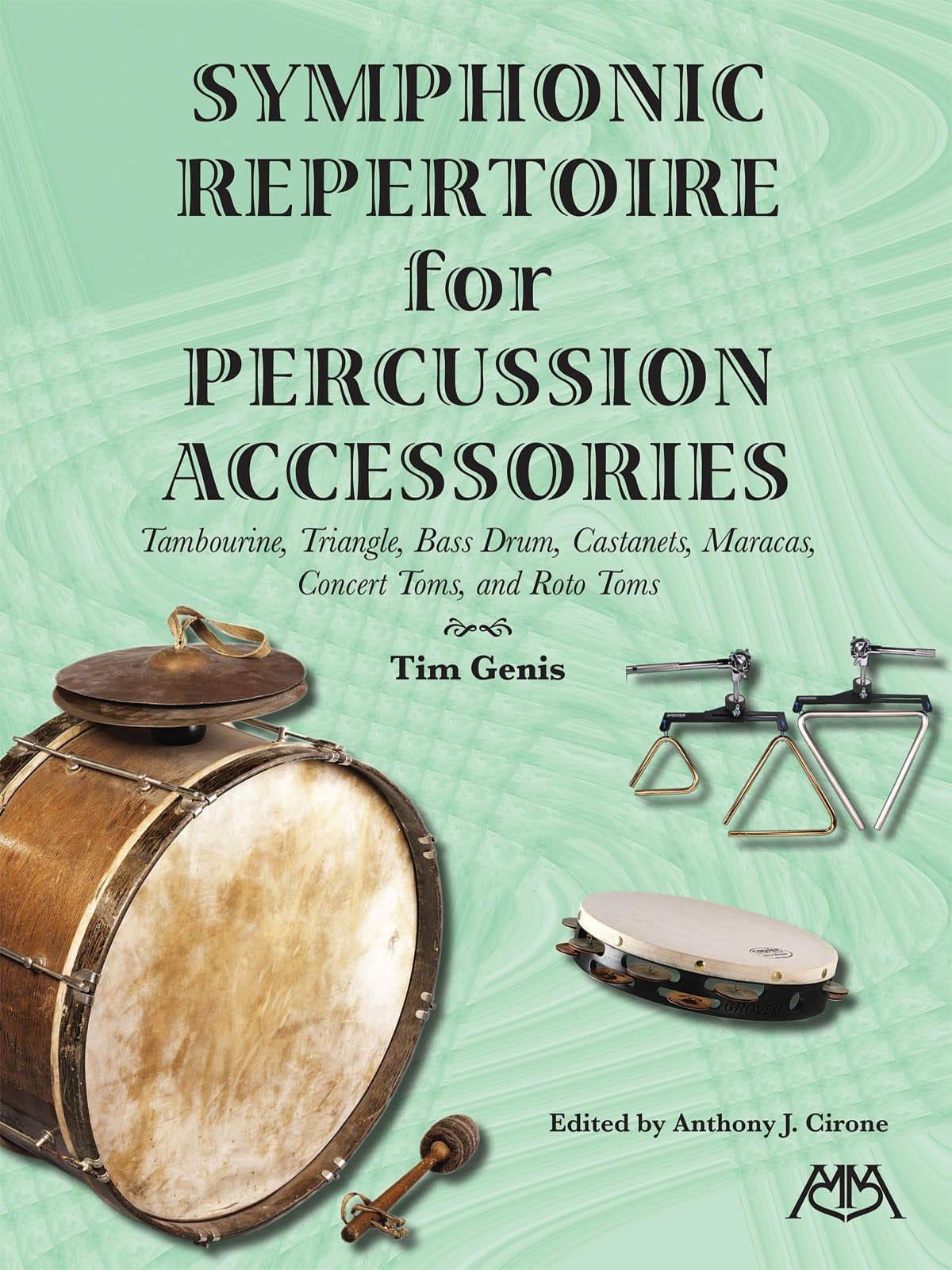 Symphonic Repertoire for Percussion Accessories - laflutedepan.com