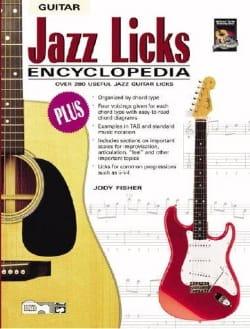 Jazz Licks Encyclopedia Jody Fisher Partition Guitare - laflutedepan