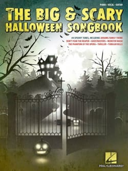 - The Big - Scary Halloween Songbook - Partition - di-arezzo.co.uk