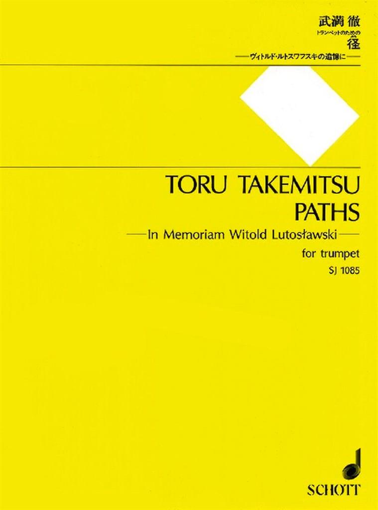 Paths - TAKEMITSU - Partition - Trompette - laflutedepan.com