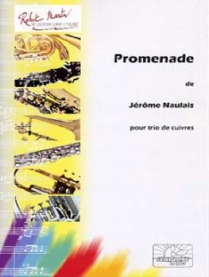Promenade - Jérôme Naulais - Partition - laflutedepan.com