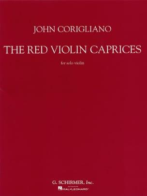The Red Violin Caprices For Solo Violon John Corigliano laflutedepan
