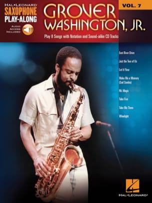 Saxophone Play-Along Volume 7 - Grover Washington, Jr. laflutedepan