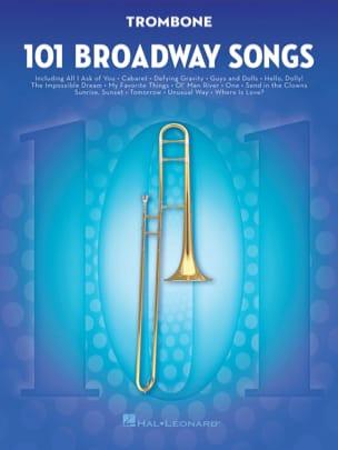 101 Broadway Songs for Trombone - Partition - laflutedepan.com