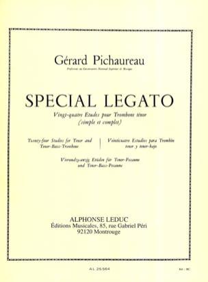 Spécial Legato - 24 Etudes Gérard Pichaureau Partition laflutedepan