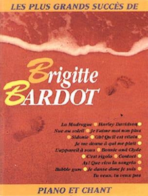 Livre d'or - 15 Succès Brigitte Bardot Partition laflutedepan