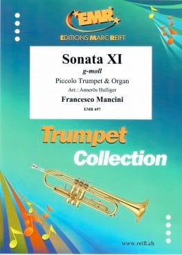 Sonate XI G-Moll - Francesco Mancini - Partition - laflutedepan.com