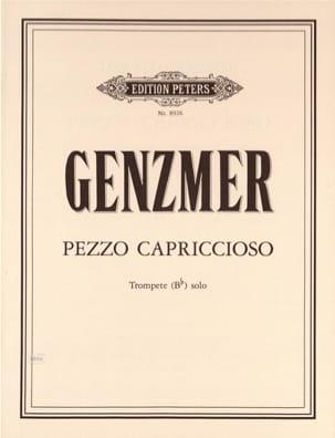 Pezzo Capriccioso - Harald Genzmer - Partition - laflutedepan.com