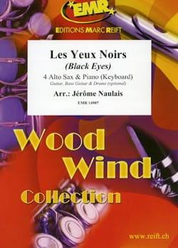 Les Yeux Noirs Traditionnel Partition Saxophone - laflutedepan
